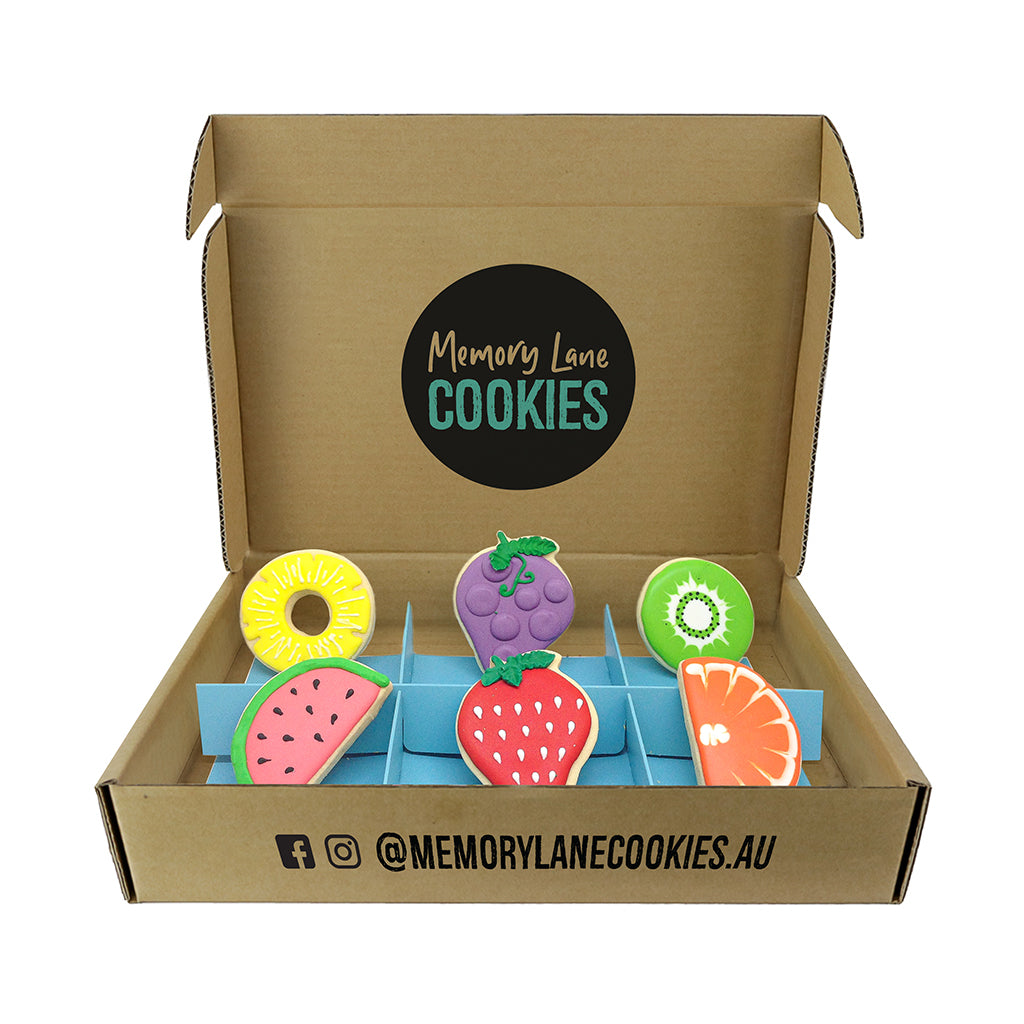 Thinking of You Fruit Gift Box - Memory Lane Cookies