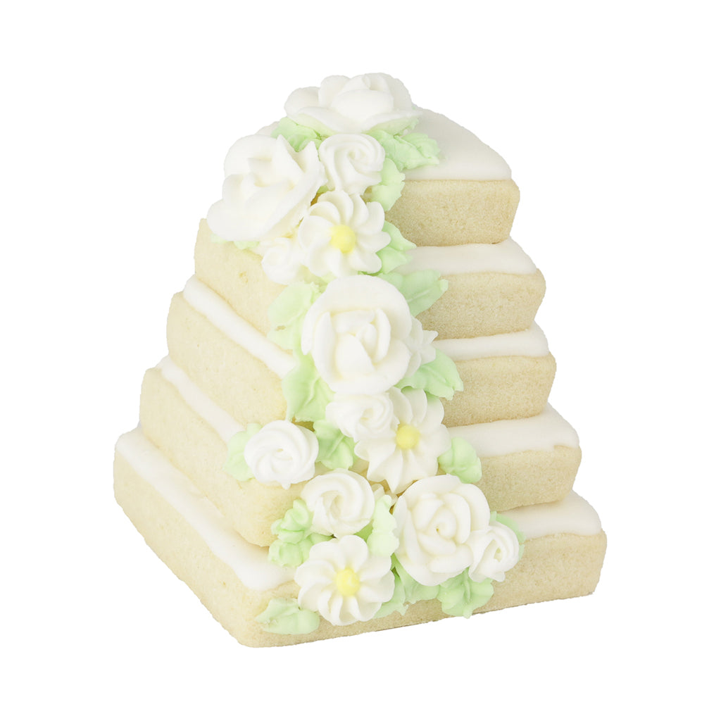 3D Wedding Cakes - Memory Lane Cookies