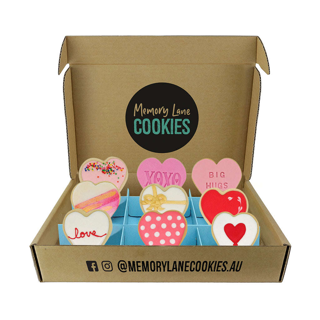 Thinking of You Love Cookies Gift Box - Large