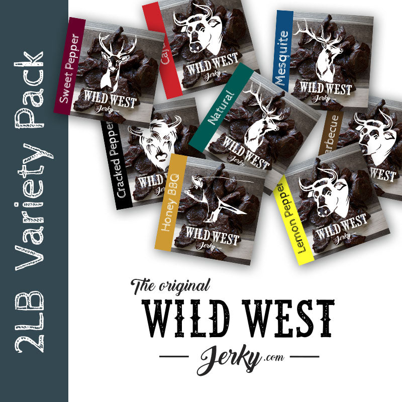 The Wild West 2 Pound Jerky Variety Pack