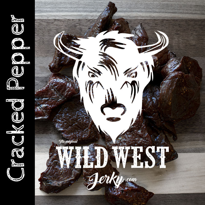 Cracked Pepper Buffalo Jerky