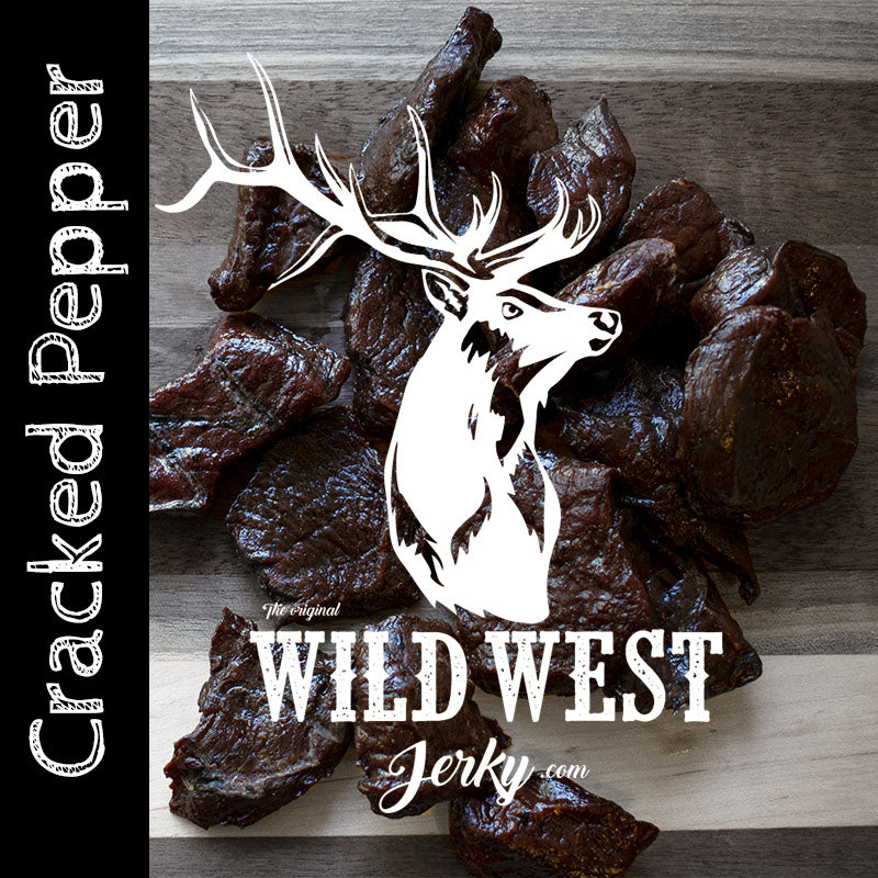 Peppered Elk Jerky