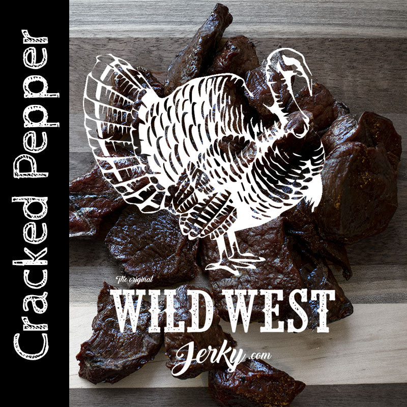 Cracked Pepper Turkey Jerky