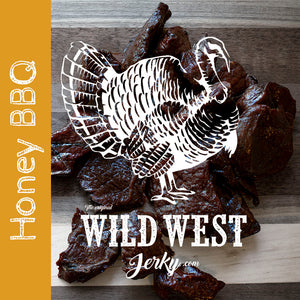 Honey BBQ Turkey Jerky
