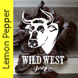Lemon Peppered Beef Jerky