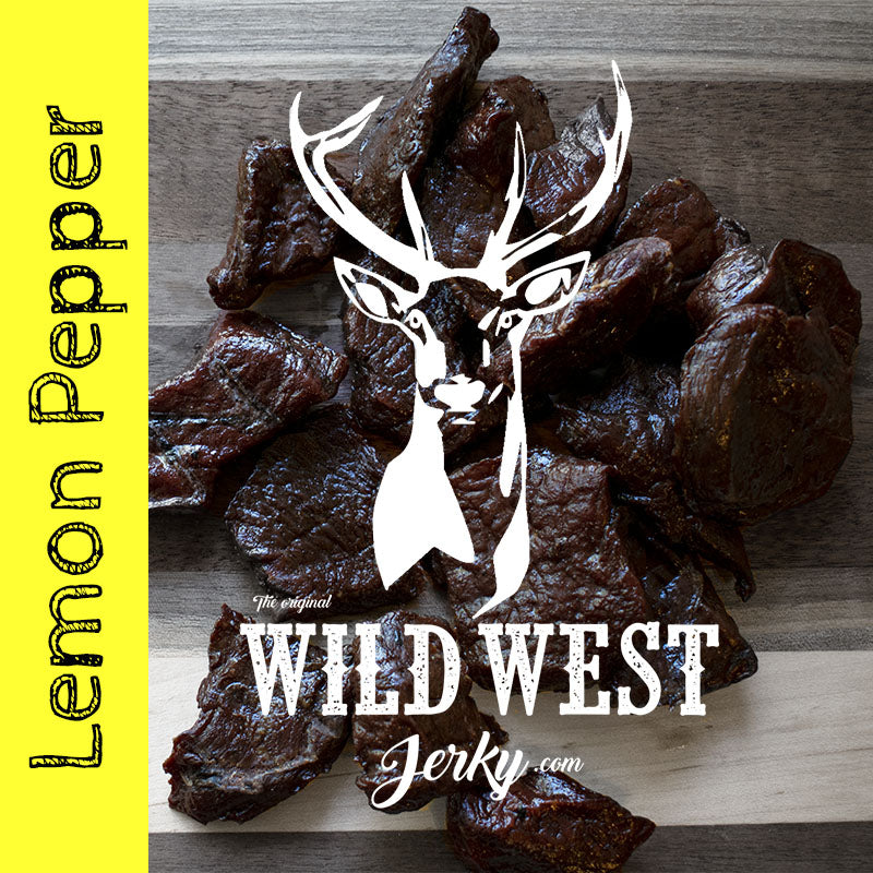 Lemon Pepper Deer Jerky