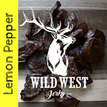 Lemon Pepper Elk Jerky