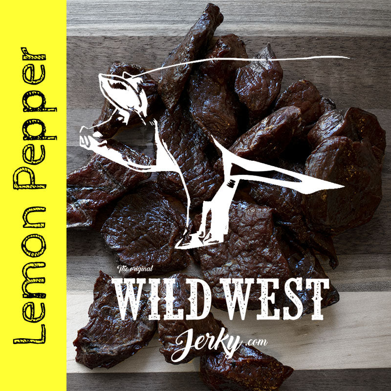 Lemon Peppered Pork Jerky