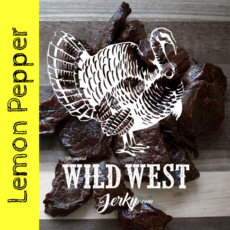 Lemon Pepper Turkey Jerky