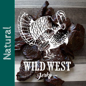 Natural Flavor Turkey Jerky