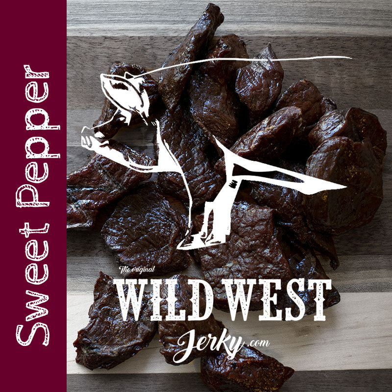 Sweet Pepper Pork Jerky