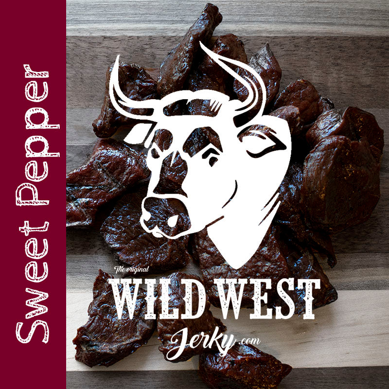 Sweet Pepper Beef Jerky