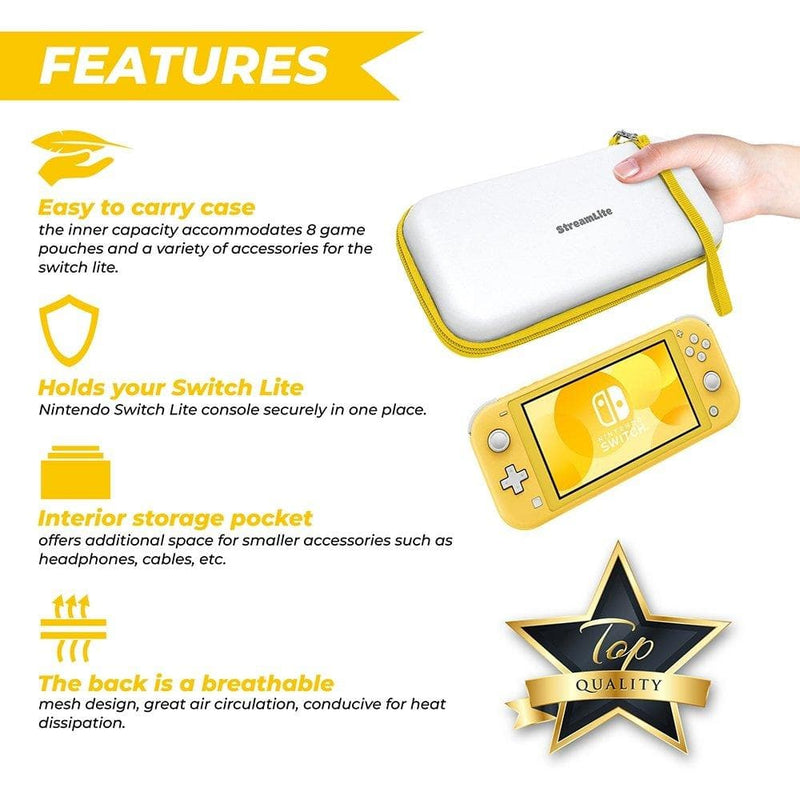 Nintendo Switch Lite Protective Carrying Case - StreamLite