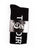 The Dirty Block Knee High Socks- Black