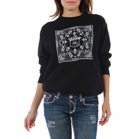Bandana Crewneck Fleece