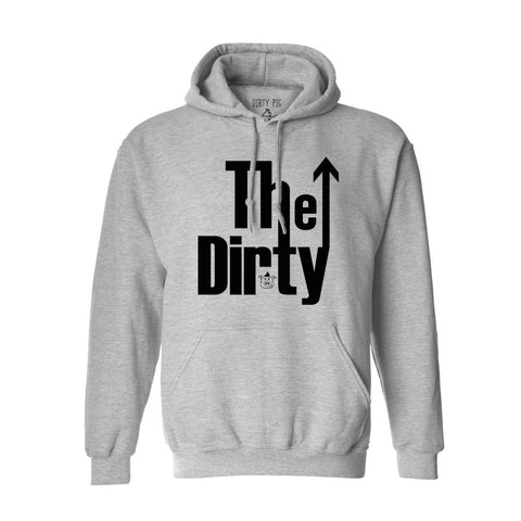 The Dirty Hoody - Heather Grey