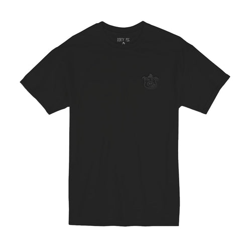 Puffy Smalls Tee - Black/Black