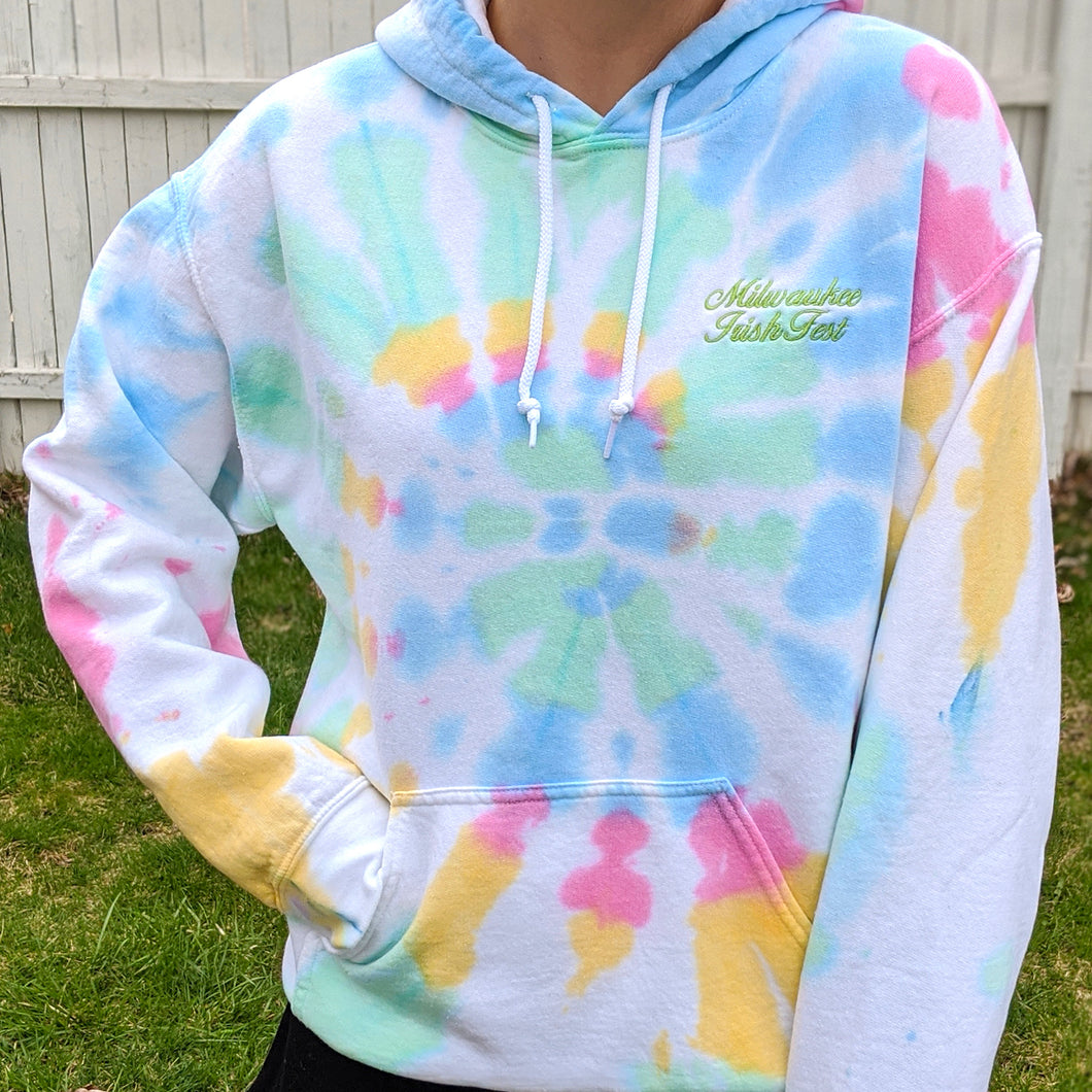 Milwaukee Irish Fest Tie-Dye Sweatshirt