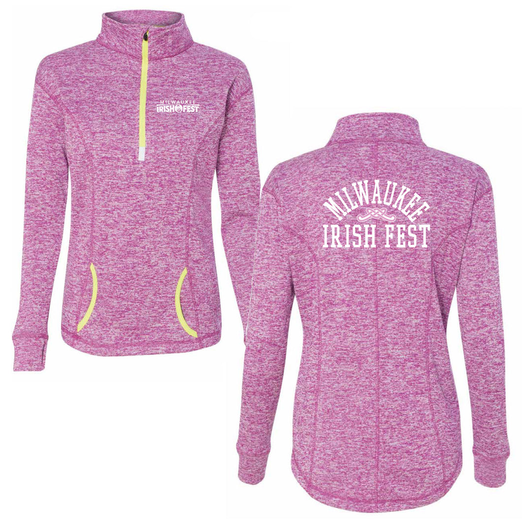 Milwaukee Irish Fest Women's Quarter Zip Performance