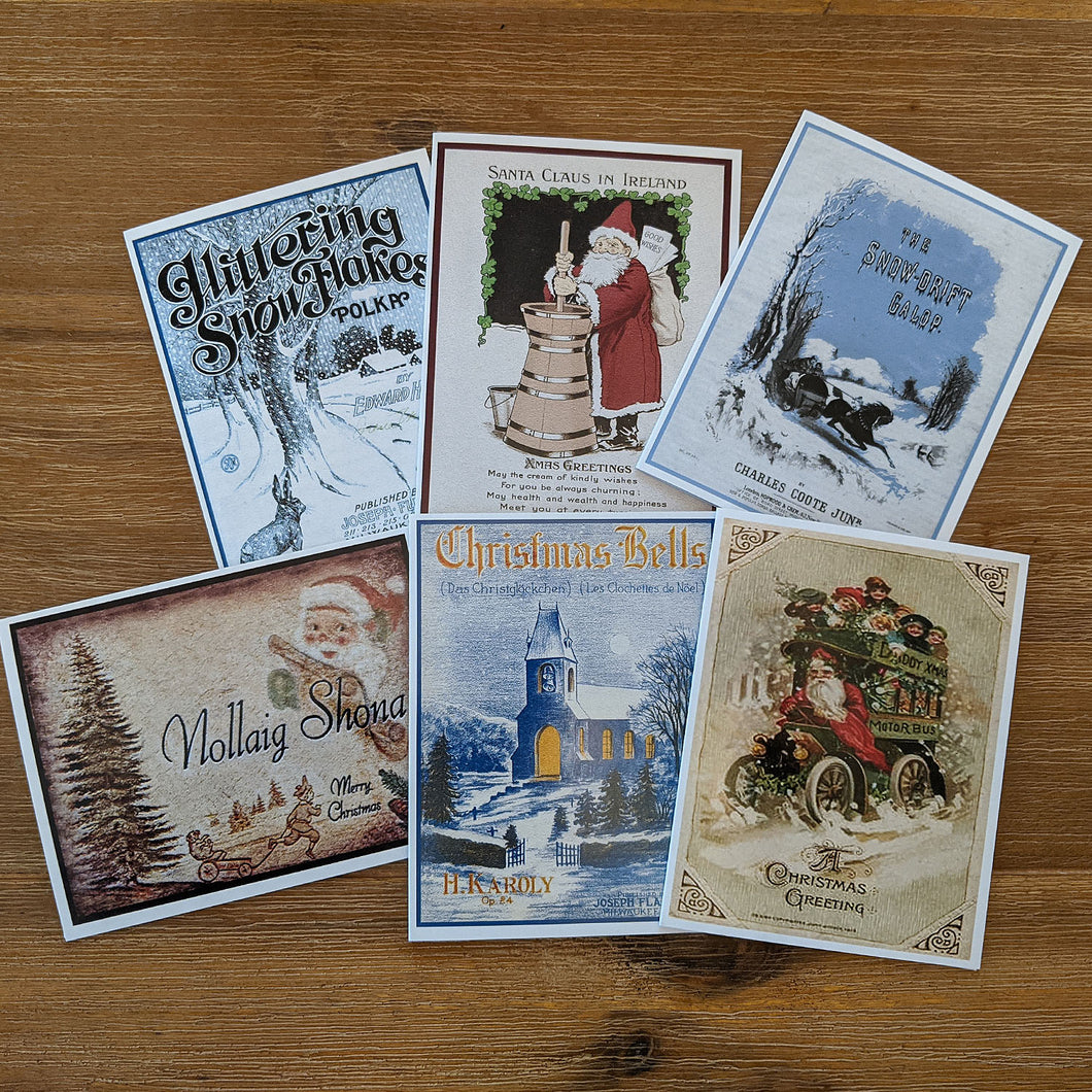 Ward Irish Music Archives Holiday Card Set