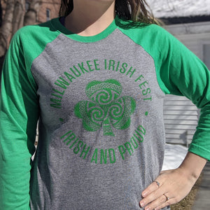 Milwaukee Irish Fest Unisex Baseball Tee
