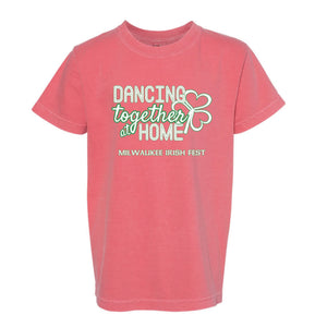 Milwaukee Irish Fest Dancing Together At Home Youth T-Shirt