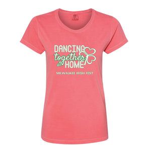 Milwaukee Irish Fest Dancing Together At Home Women's T-Shirt