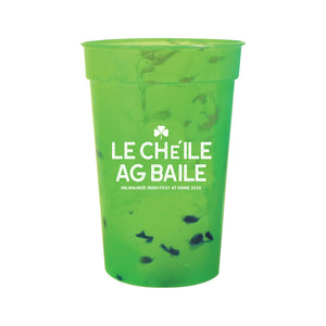 Milwaukee Irish Fest Le Cheile Plastic Cup