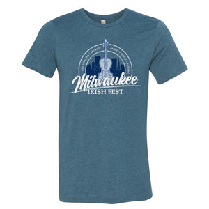 Milwaukee Irish Fest Unisex Teal T-Shirt