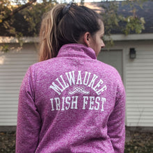 Load image into Gallery viewer, Milwaukee Irish Fest Women's Quarter Zip Performance
