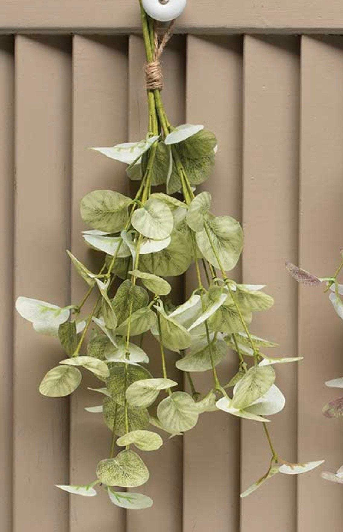 Hanging Eucalyptus Greenery bundle, eucalyptus bundle, faux artifical greenery, greenery home decor, hanging herbs, wreath making,