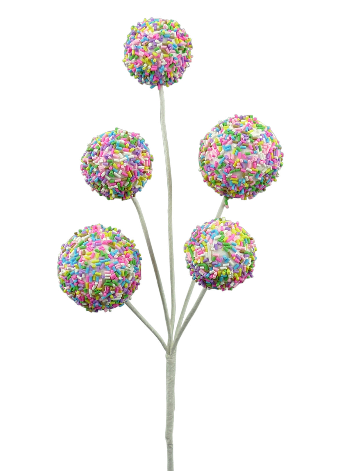 Multi sprinkles Cake pops pick
