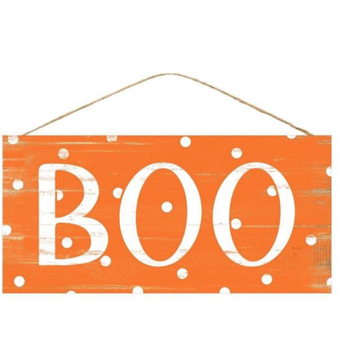 Boo sign for Halloween