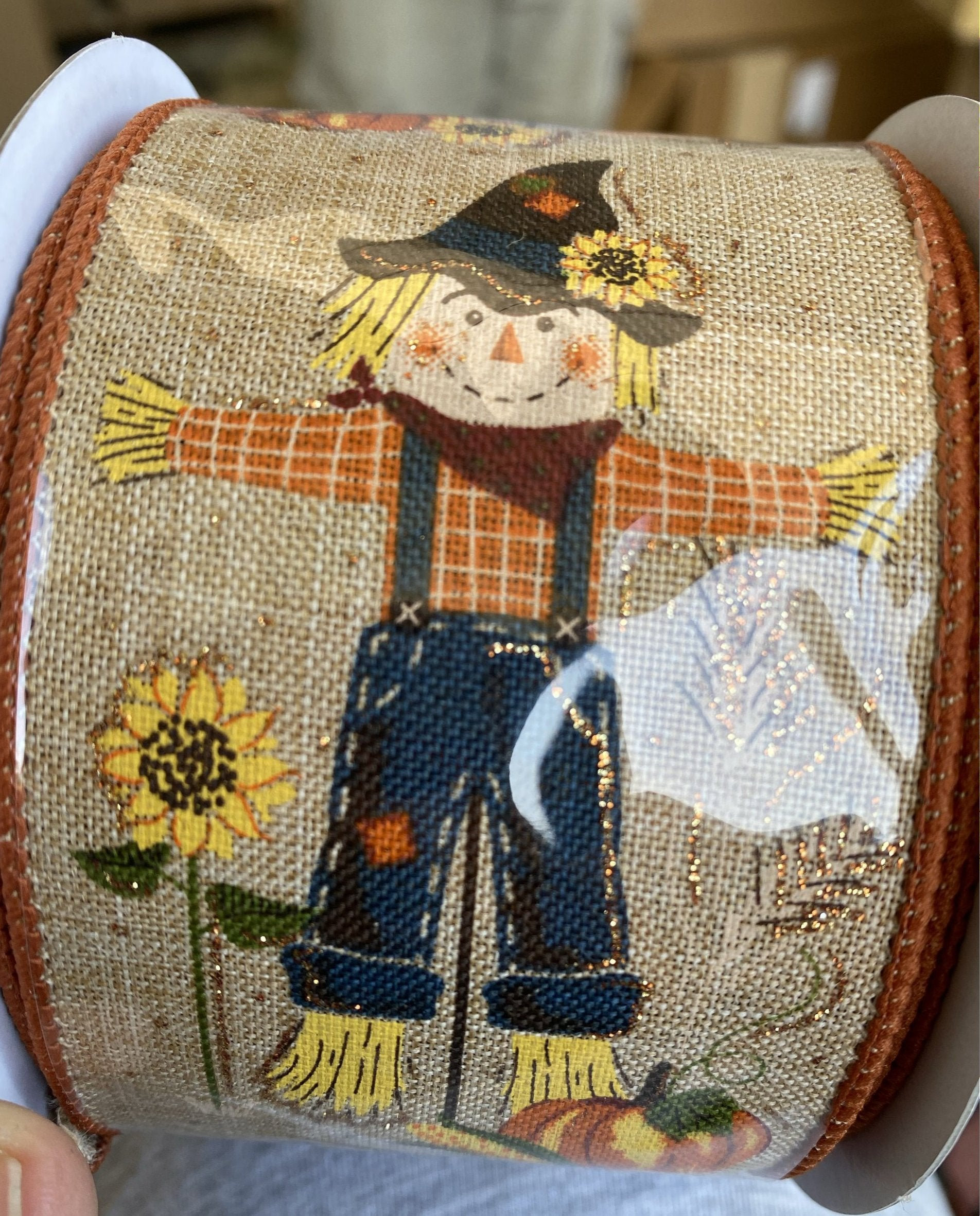 Scarecrow ribbon 2.5""