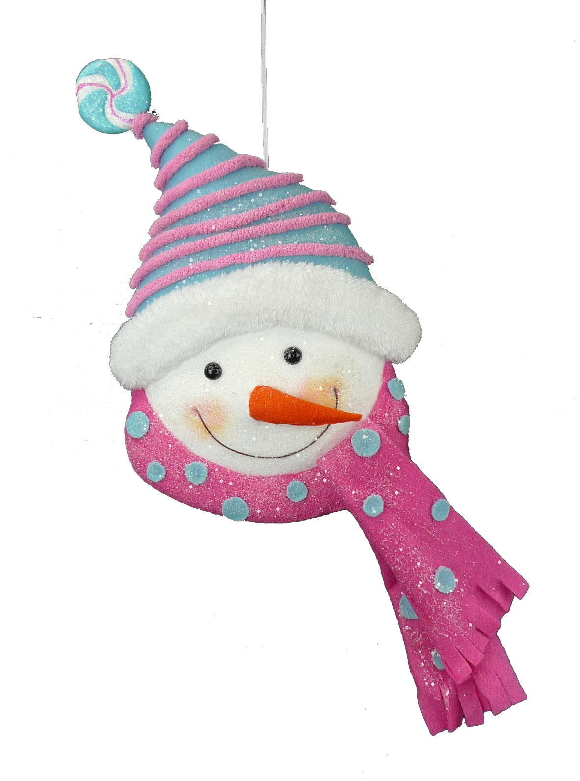 Ornament snowman with scarf
