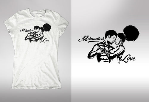 Melanated Love T-Shirts