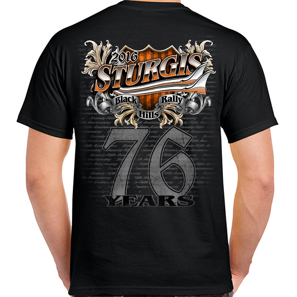 2016 Sturgis Big 76th Bike T-Shirt