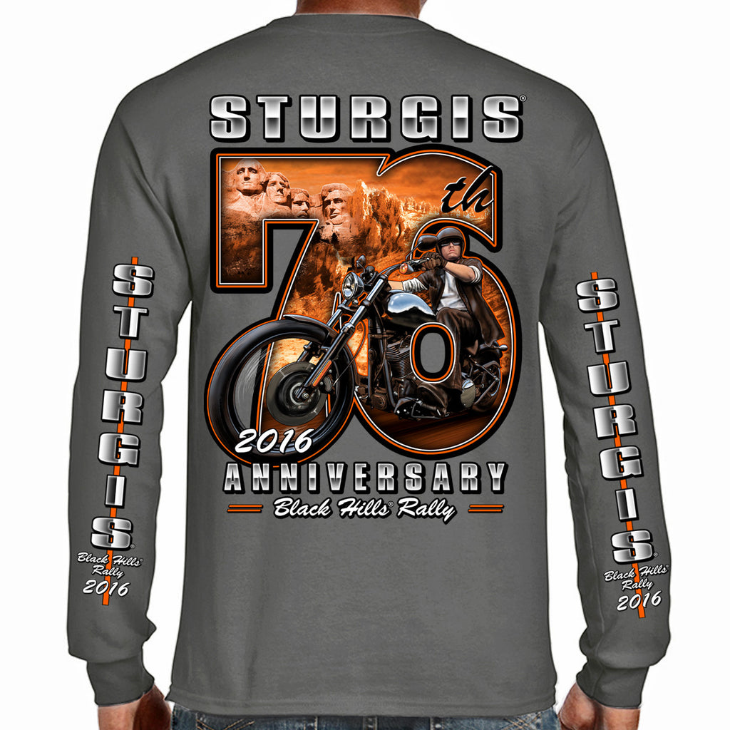 2016 Sturgis 76th Rushmore Rider Long Sleeve Shirt