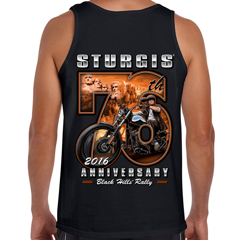 2016 Sturgis 76th Rushmore Rider Tank Top
