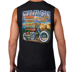 2016 Sturgis UR Here Sleeveless Muscle Shirt
