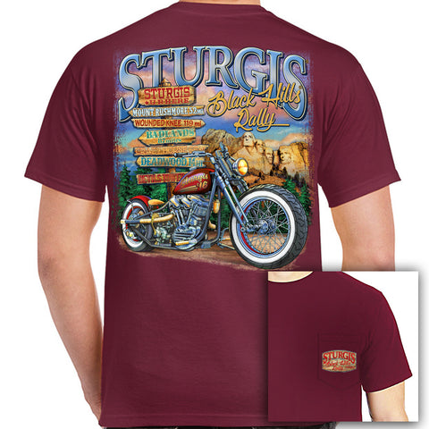 2016 Sturgis UR Here Pocket T-Shirt
