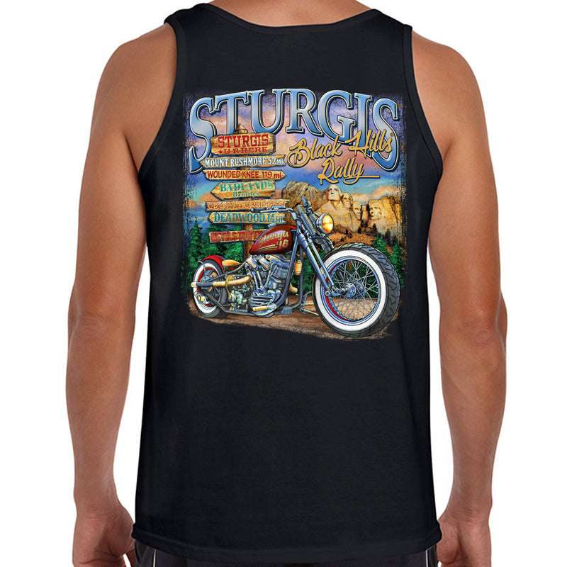 2016 Sturgis UR Here Tank Top