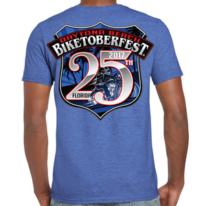 2017 Biketoberfest Daytona Beach Official Logo T-Shirt