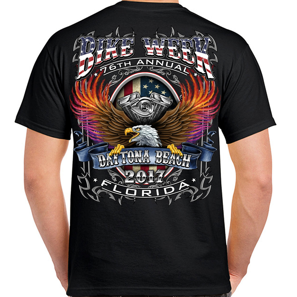 2017 Bike Week Daytona Beach B-Strong T-Shirt