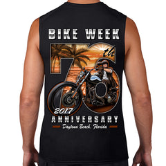 2017 Bike Week Daytona Beach 76th Scene Muscle Shirt