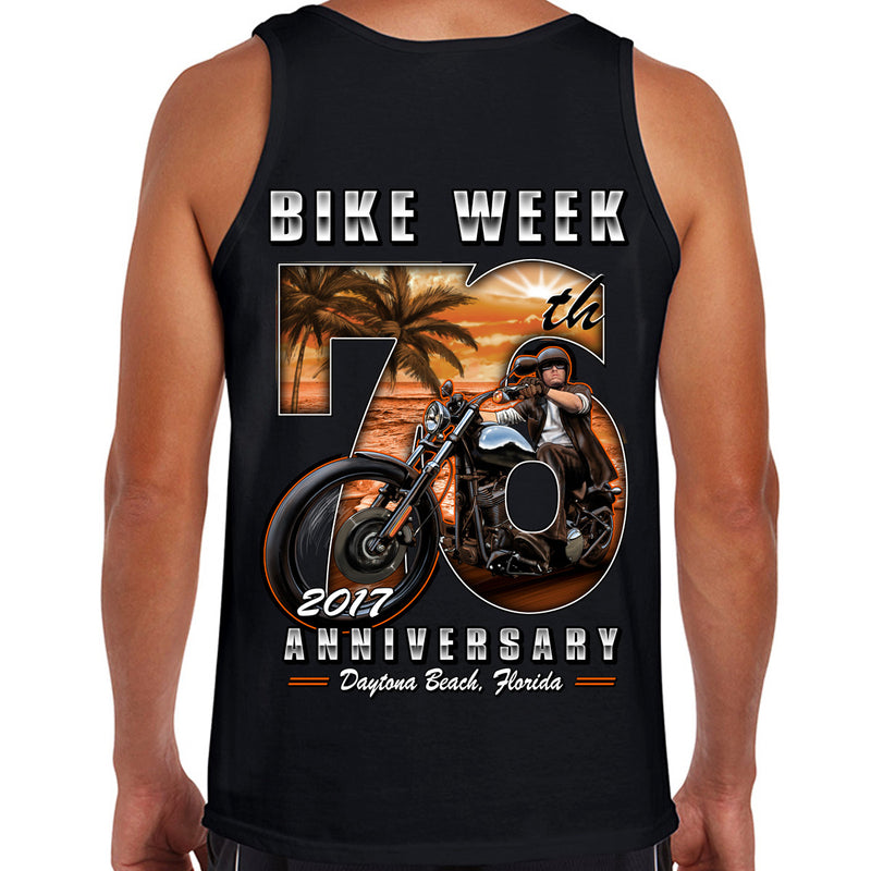 2017 Bike Week Daytona Beach 76th Scene Tank Top