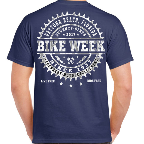 2017 Bike Week Daytona Beach Sprocket T-Shirt