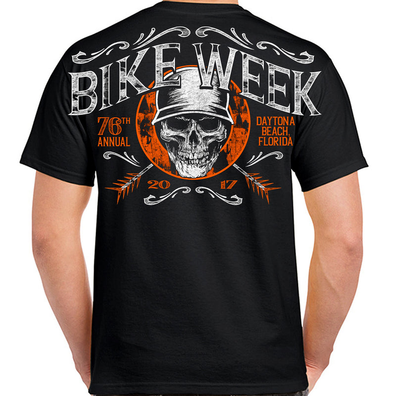 2017 Bike Week Daytona Beach Helmet Hair T-Shirt