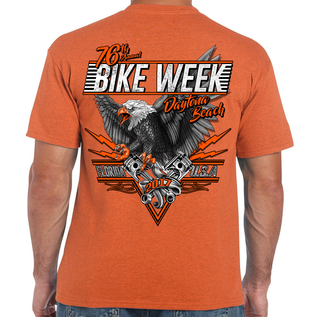 2017 Bike Week Daytona Beach Wild Eagle T-Shirt
