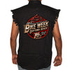 2017 Bike Week Daytona Beach Official Logo Cut-Off Denim